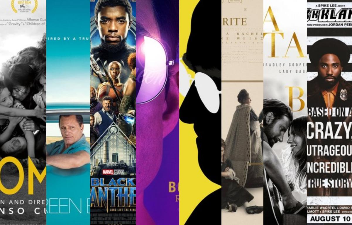 JÓscar 2019: Relembre e reforce a torcida com os indicados para Melhor Filme doAno