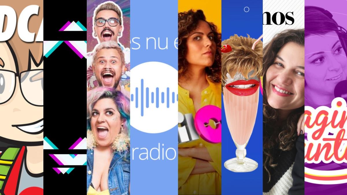 Oito Podcasts para você conhecer, viciar emaratonar